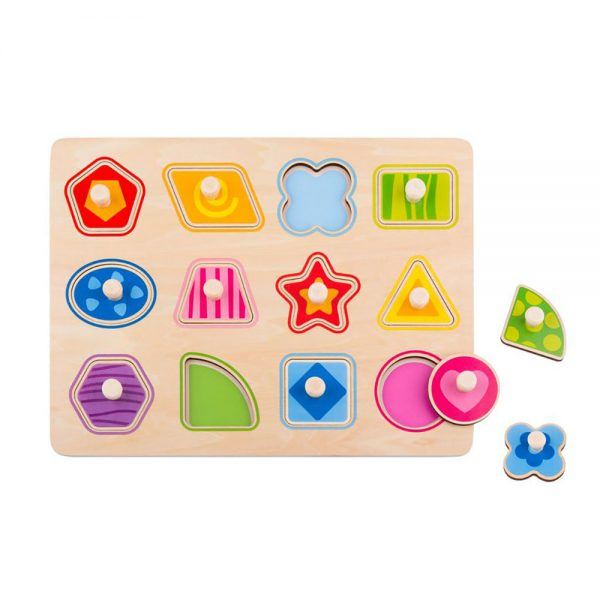 Tooky Toy TY853 Shape Puzzle