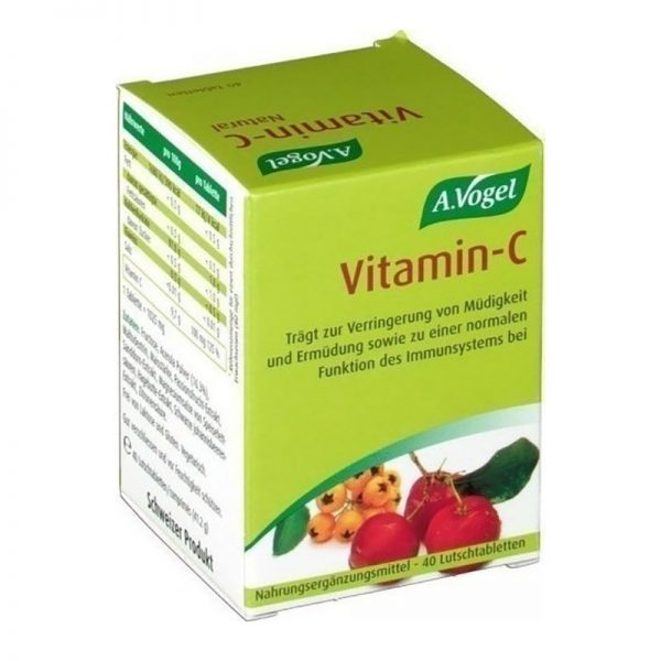 A.Vogel Vitamin-C Natural 40Tabs