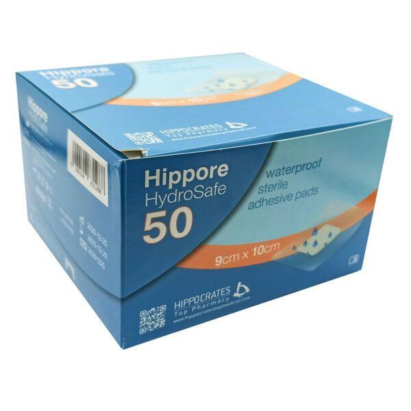 Hippore Hydrosafe Αδιάβροχο Αποστειρωμένο Αυτοκόλλητο Επίθεμα 9x10cm 1 Τεμάχιο
