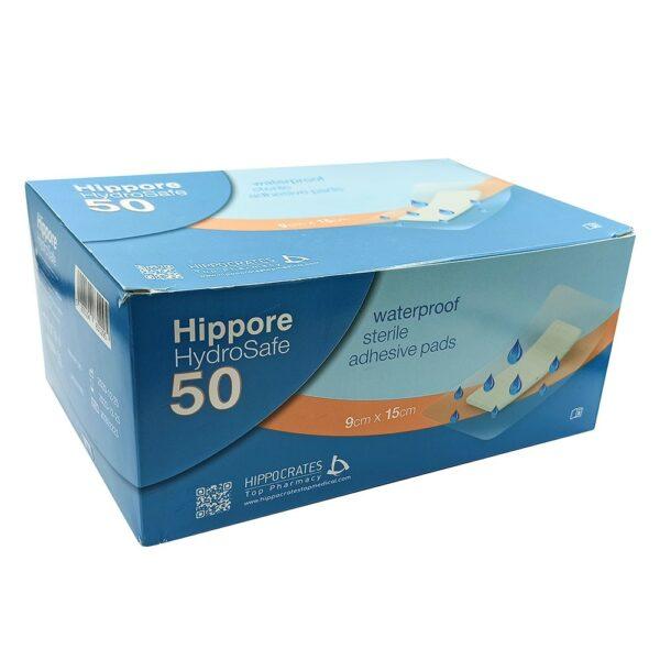 Hippore Hydrosafe Αδιάβροχο Αποστειρωμένο Αυτοκόλλητο Επίθεμα 9x15cm 1 Τεμάχιο