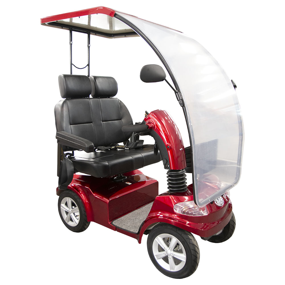 Wisking 4034 Mobility Scooter Διθέσιο Κόκκινο