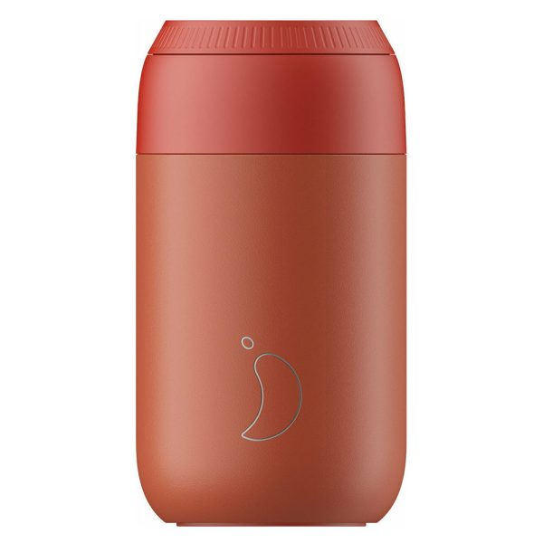 Chilly's Series 2 Coffee Cup Maple Red 340ml